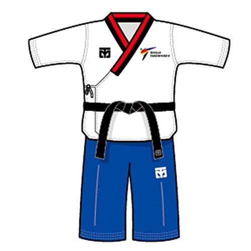 Mooto Korea Taekwondo Poomsae Portachiavi Uniforme Portachiavi MMA Arti Marziali Kickboxing Karate Bag Borse Accessori Uniformi Souvenir (3. Poom Male)