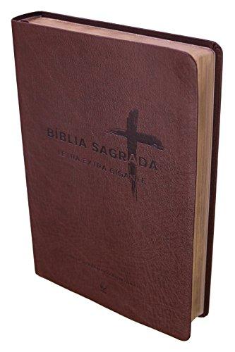 Bíblia Sagrada NVI - Letra Extra Gigante. Capa Marrom