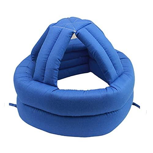 Verstellbarer Kopfschutz-Hut, Sicherheitshelm Atmungsaktiv Kopfschutz Schutzkappe für Ältere, Anti-Shock-Kappe Anti-Fall-Kopf-Schwammsicherheit Anti-Fall-Kopfschutzhelm