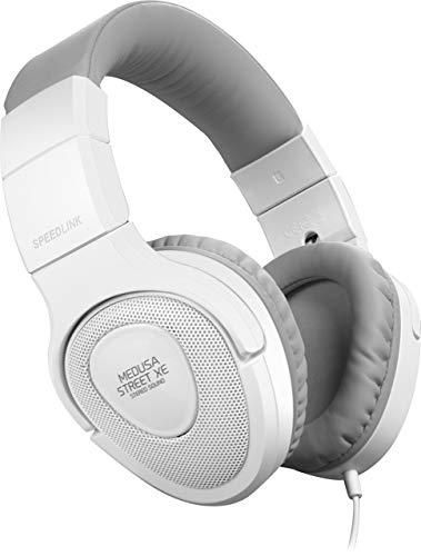 Speedlink Kopfhörer - MEDUSA STREET XE Stereo Headset 3,5mm Klinke für Notebooks / Smartphones (Zertifiziert und Generalüberholt)