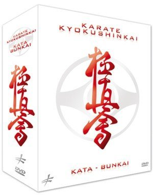 3 DVD Box Set Kyokushinkai Karate Kata & Bunkai by Bertrand Kron