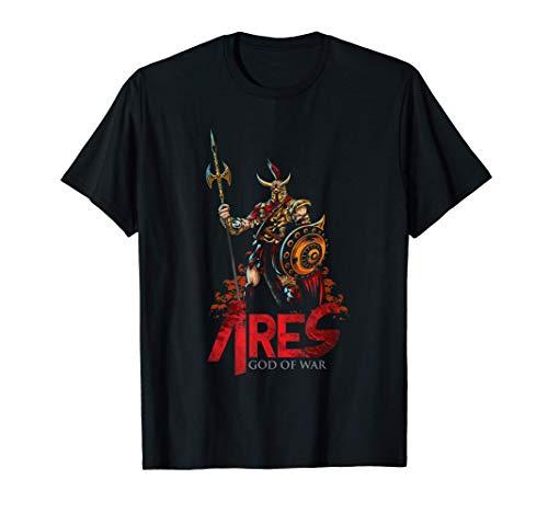 Ares Gods of War Ancient Greek Mythology and Folklore T-Shirt
