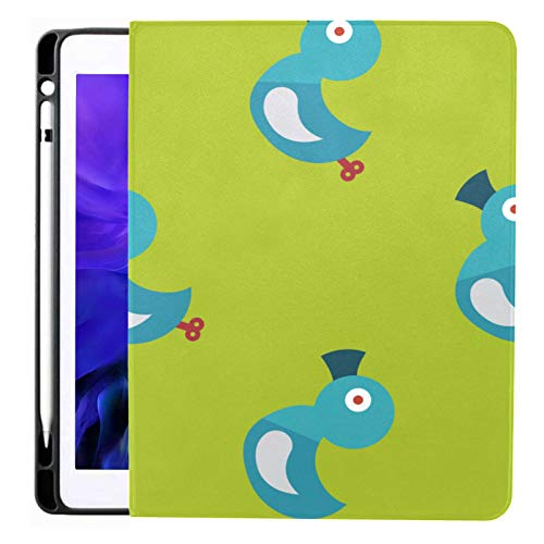 Ipad Pro 12.9 Case 2020 & 2018 With Pencil Holder Duck Toy Flat Iconeps 10 Smart Cover Ipad Case, Supports 2nd Gen Pencil Charging,case For 2020 Ipad Pro 12.9 Cover With Auto Sleep/wake