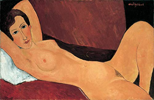 Berkin Arts Amedeo Modigliani Giclee Canvas Print Paintings Poster Reproduction … (Nude Grand)