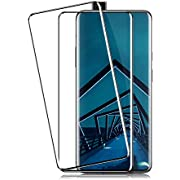 OnePlus 7 Pro Screen Protector by BIGFACE, [2 Pack] Full Coverage Premium Tempered Glass, Case Friendly, Anti - Scratch, 3D Touch HD Clarity Accuracy Anti Bubble Film for OnePlus 7 Pro