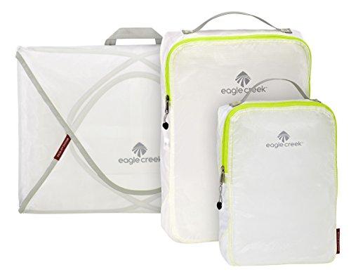 Eagle Creek Pack-It Specter Packing Organizer Starter Set , White/Strobe, Set of 3