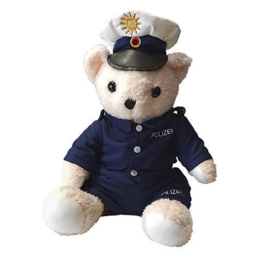 Polizei-Teddy - Plüsch Polizeibär in Uniform