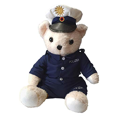 Polizei-Teddy - Plüsch Polizeibär in Uniform