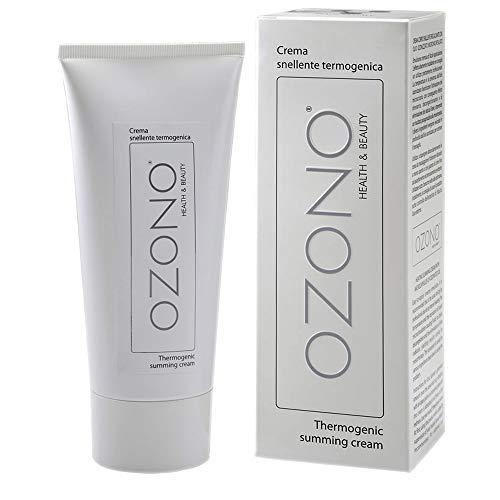 Ozono H&B - Crema corporal termogénica profesional – Aceite ozonizado microencapsulado –...