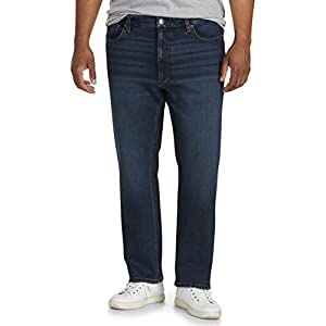 Men's Big & Tall Straight Stretch Jean Fit