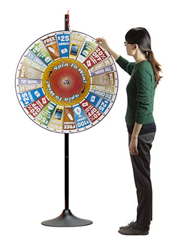 """36"""" Prize Pocket Wheel with Stand by Midway Monsters"""