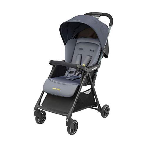 Maxi-Cosi Diza Silla Paseo bebé, cochecito compacto y ligero, pesa 4.2 kg, reclinable y plegable con una sola mano, color brave graphite
