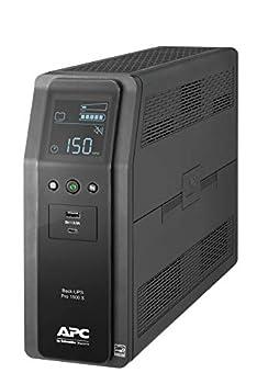 APC UPS 1500VA Sine Wave UPS Battery Backup & Surge Protector BR1500MS2 Backup Battery with AVR  2  USB Charger Ports Back-UPS Pro Uninterruptible Power Supply