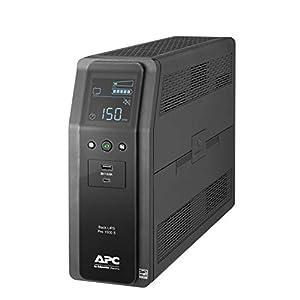 APC UPS, 1500VA Sine Wave UPS Battery Backup & Surge Protector, BR1500MS2, Backup Battery with AVR, (2) USB Charger…