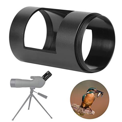 SALUTUYA Filettatura M42x0,75 Adattatore per Adattatore per Telecamera per telescopio Tubo per telescopio Telaio in Alluminio Leggero, per SLR/Micro Telecamera Singola