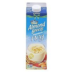 Almond Breeze Dairy Free Almondmilk, Classic Almondmilk Nog, Quart, 32 oz