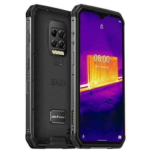 Ulefone Armor 9 Thermokamera Robustes Phone Android 10 Helio P90 Octa-Core 8GB + 128GB Mobiltelefon 6600mAh 64 MPカメラスマートフォン