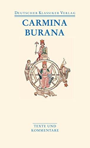 Carmina Burana: Texte und Übersetzungen (DKV Taschenbuch)