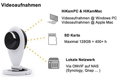 HiKam S6 mini drahtlose IP Überwachungs-Kamera - 8