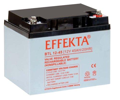 EFFEKTA BTL12-45 / 12V 45Ah AGM Blei Akku Batterie