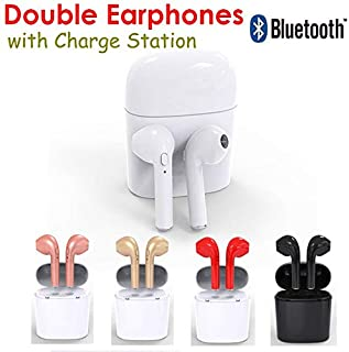HBQ I7 TWS Twins Wireless Earphone Earbuds Mini Bluetooth V4.2 DER Stereo Headset Sports Headphone for IPhone 7 Android Xiaomi