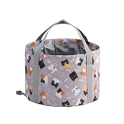 Multifunctional Folding Bucket,Portable Foot Soak Spa Basin for Camping, Picnic,Travel,Indoor, Outdoor,B