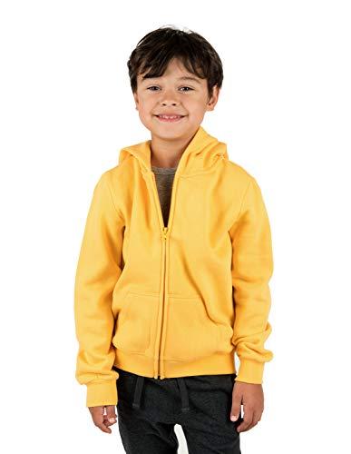 Leveret Kids & Toddler Boys Girls Sweatshirt Hoodie Jacket Yellow (Size 6 Years)
