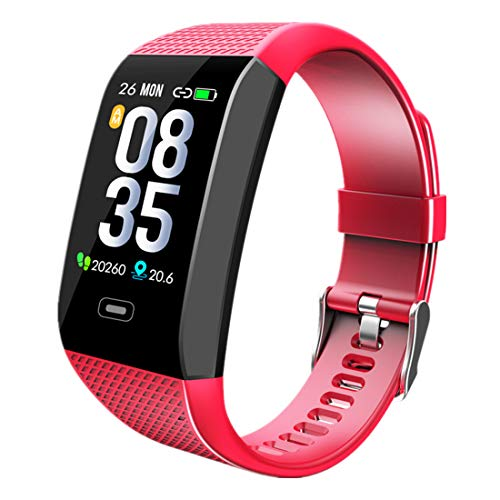 Fitness Tracker, Activity Tracking Smart Bracelet for Men Women with Blood Pressure Oxygen Heart Rate Sleep Monitor Stopwatch Weather Call SMS Alert Waterproof IP68 Compatible with Android IPhone