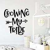 Usmnxo Grow My Vinyl Etiqueta de la Pared de la Cocina Papel Pintado Etiqueta de la Pared extraíble Decoración del hogar 57x59cm