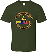 3XLARGE - Army - Ssi - 10th Armored Division - Europe - Wwii T Shirt - Military Green