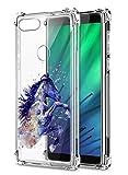 Oihxse Compatible pour Xiaomi Redmi 6 Pro/Xiaomi Mi A2 Lite Silicone Cover, Coque en Transparent TPU...