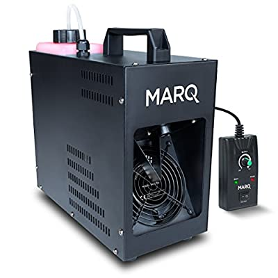 Marq Haze Professional Haze Machine & Wired Remote for Amazing Haze Effect perfect for Halloween, Christmas, Weddings, Disco, DJ Party
