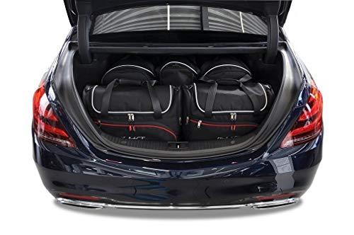 KJUST Dedizierte Reisetaschen 5 STK kompatibel mit Mercedes-Benz S W222 2013 -