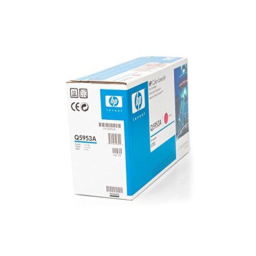 Original HP Q5953A / 643A, für Color Laserjet 4700 N Premium Drucker-Kartusche, Magenta, 10000 Seiten