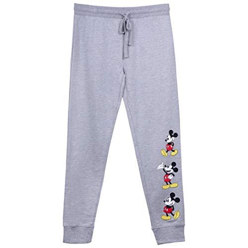 Mickey Mouse Women's Grey Sweatpants (X-Large)