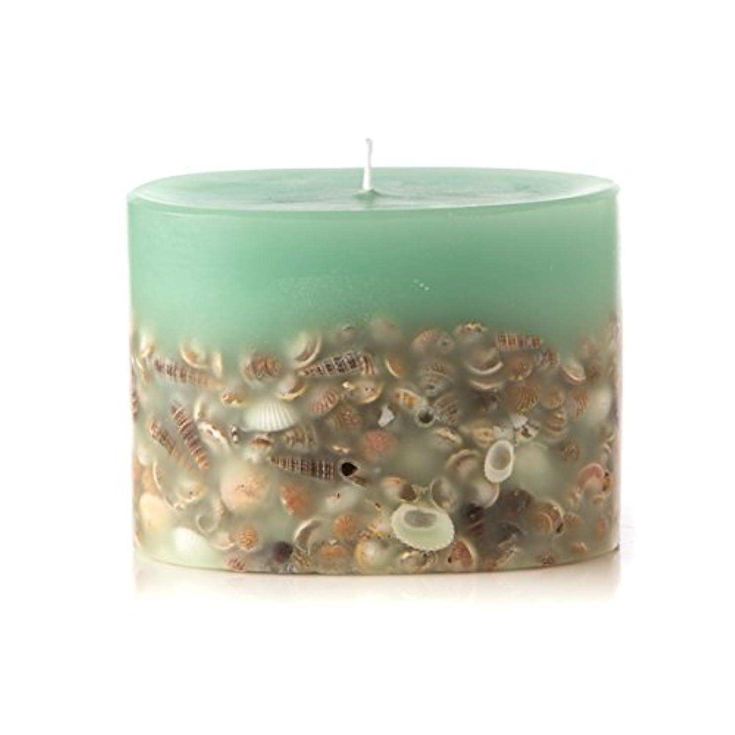 憂鬱な最終的に猛烈なロージーリングス プティボタニカルキャンドル シーグラス ROSY RINGS Petite Oval Botanical Candle Sea Glass