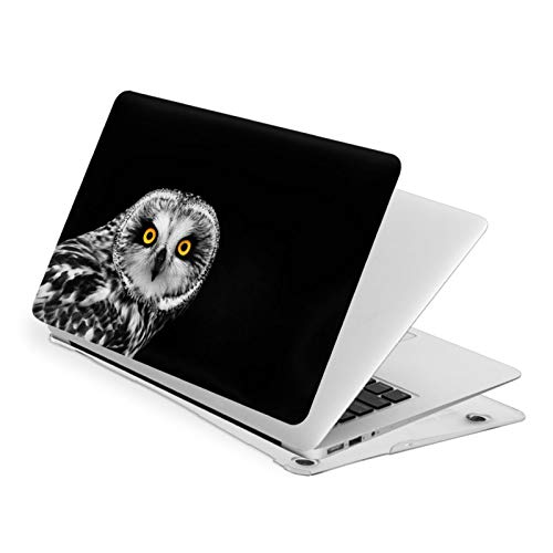 Air 13 inch Case,Short Eared Owl Mark Rogan Ultra Slim Hard Shell Protective Case,Laptop Hard Shell Cover Protective (Model A1466 A1369, Size 32.9 x 23.1cm)