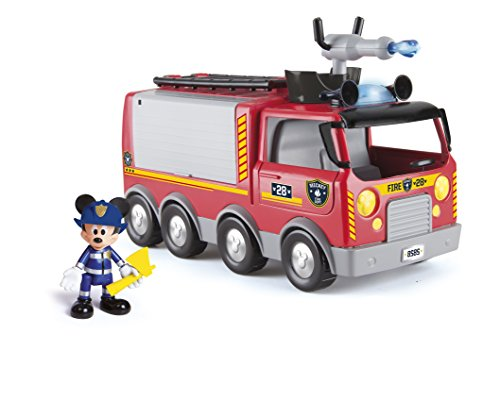 IMC Toys-Emergency Fire Truck Disney Camion...