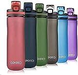 Opard Sports Water Bottle, 20 Oz BPA Free Non-Toxic Tritan Plastic Water Bottle with Leak Proof Flip...