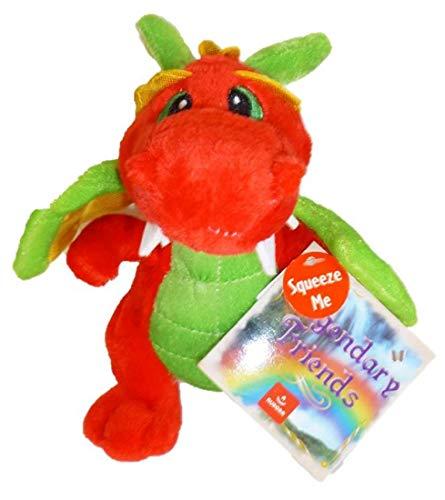 Legendary Friends Aurora 7' Plush Dragon - Red/Green