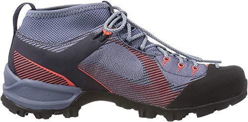Salewa Damen WS Alpenviolet Gore-TEX Trekking-& Wanderstiefel, Blue Fog/Fluo Coral 346, 40 EU