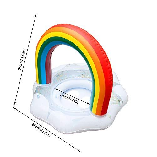 Shakala Verdickter Rettungsring Für Babys Kleinkinder, Kinder Schwimmen Schwimmen Regenbogen Schwimmring