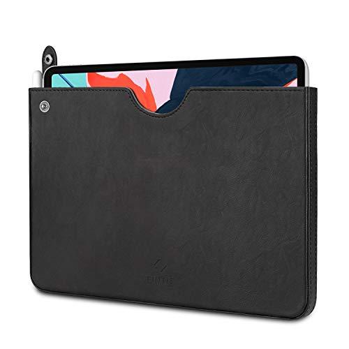 Fintie Tasche Hülle für iPad Pro 11 2020/2018, iPad 10.2 Zoll 2019 - Kunstleder Tragetasche Tablet Schutzhülle Sleeve Aktentasche mit Karten-Slot für iPad Air 10.5 2019 / iPad Pro 10.5, Schwarz