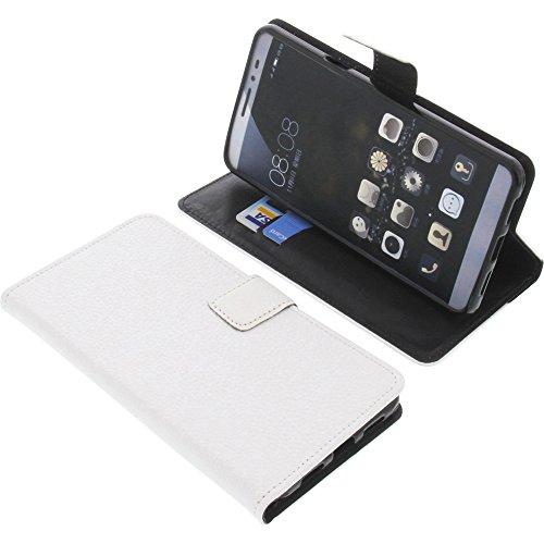 foto-kontor Tasche für coolpad Max Book Style weiß Schutz Hülle Buch
