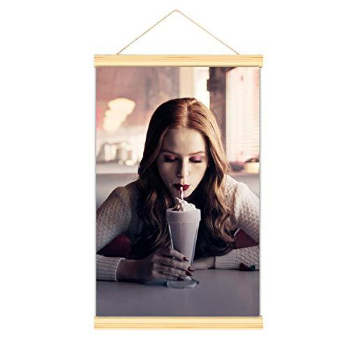 WPQL Plakat filmowy Riverdale Beautiful Alice Cooper Riverdale kryminał zawieszenie amerykański dramat jedzenie lody plakat sztuka ścienna dekoracja płótno obraz wiszące płótno 20 x 30 cali (50 x 75 cm)