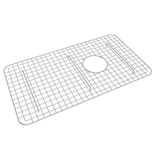 Rohl WSG3018SS Wire Sink Grids, 14-5/8-Inch by 26-1/2-Inch, Stainless Steel