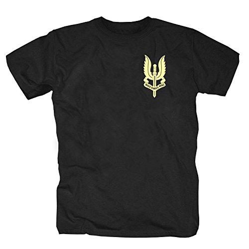 SAS Special Air Service - Camiseta, color negro