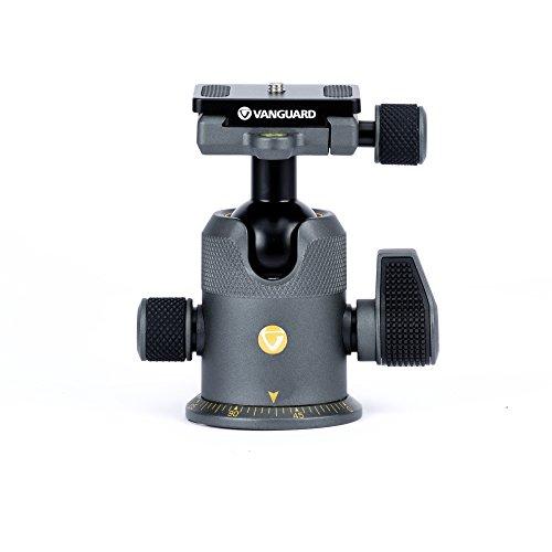 Vanguard Alta BH-250 - Rótula de Bola para trípode, soporta hasta 20kg, Color Negro y Gris