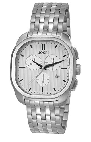 Joop! Herren Analog Quarz Uhr mit Edelstahl Armband JP101811004