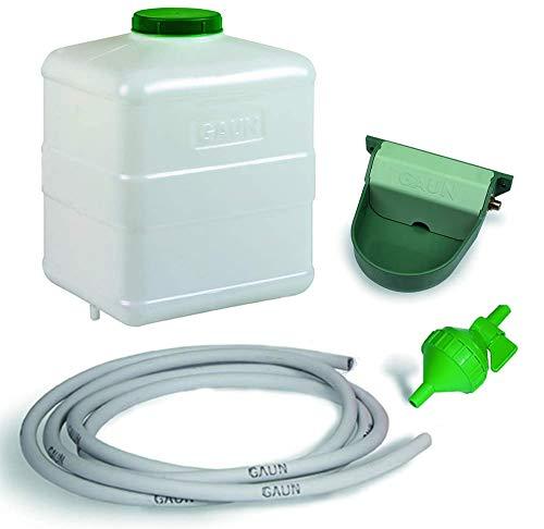 FINCA CASAREJO Kit Bebedero Grande automático para Animales, 20 litros